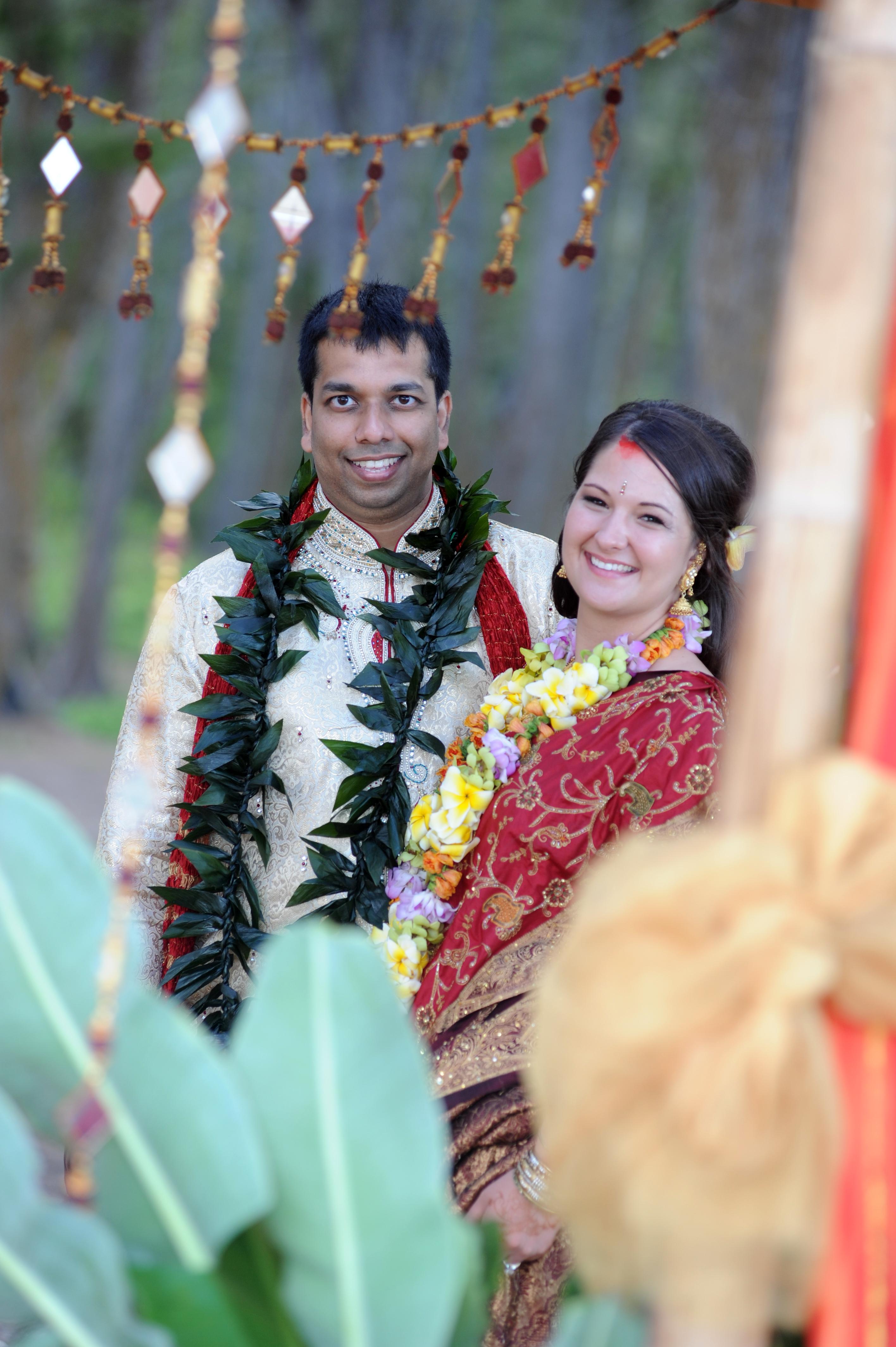 Hawaiian Indian Wedding Ceremony -44