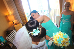 Alohaislandweddings.com- Pre wedding In The hotel room -53