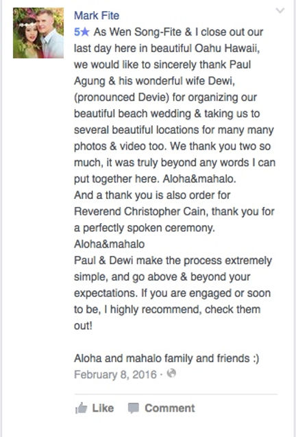 Hawaii Wedding review 39