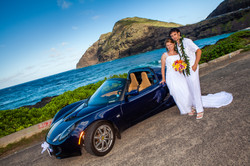 alohaislandweddings- Lotus car -12