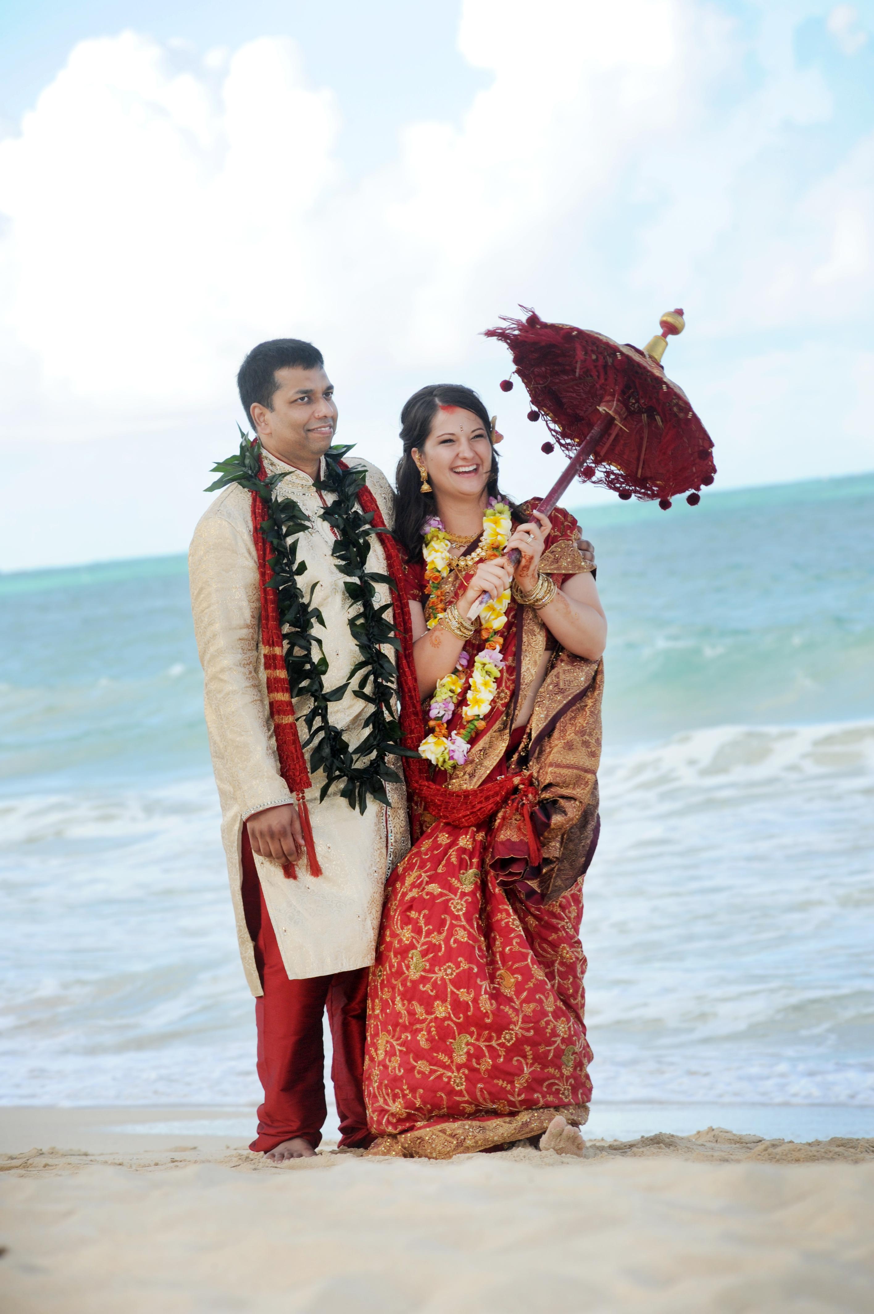 Hawaiian Indian Wedding Ceremony -41