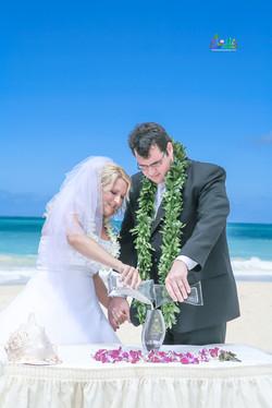 Sand wedding ceremony-5