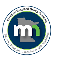 State of MN Targeted Group Business Logo