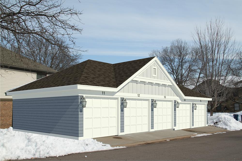 Typical garage redesign