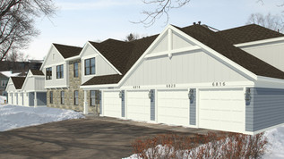 Refreshed and Efficient | Manor Homes of Edina Recladding
