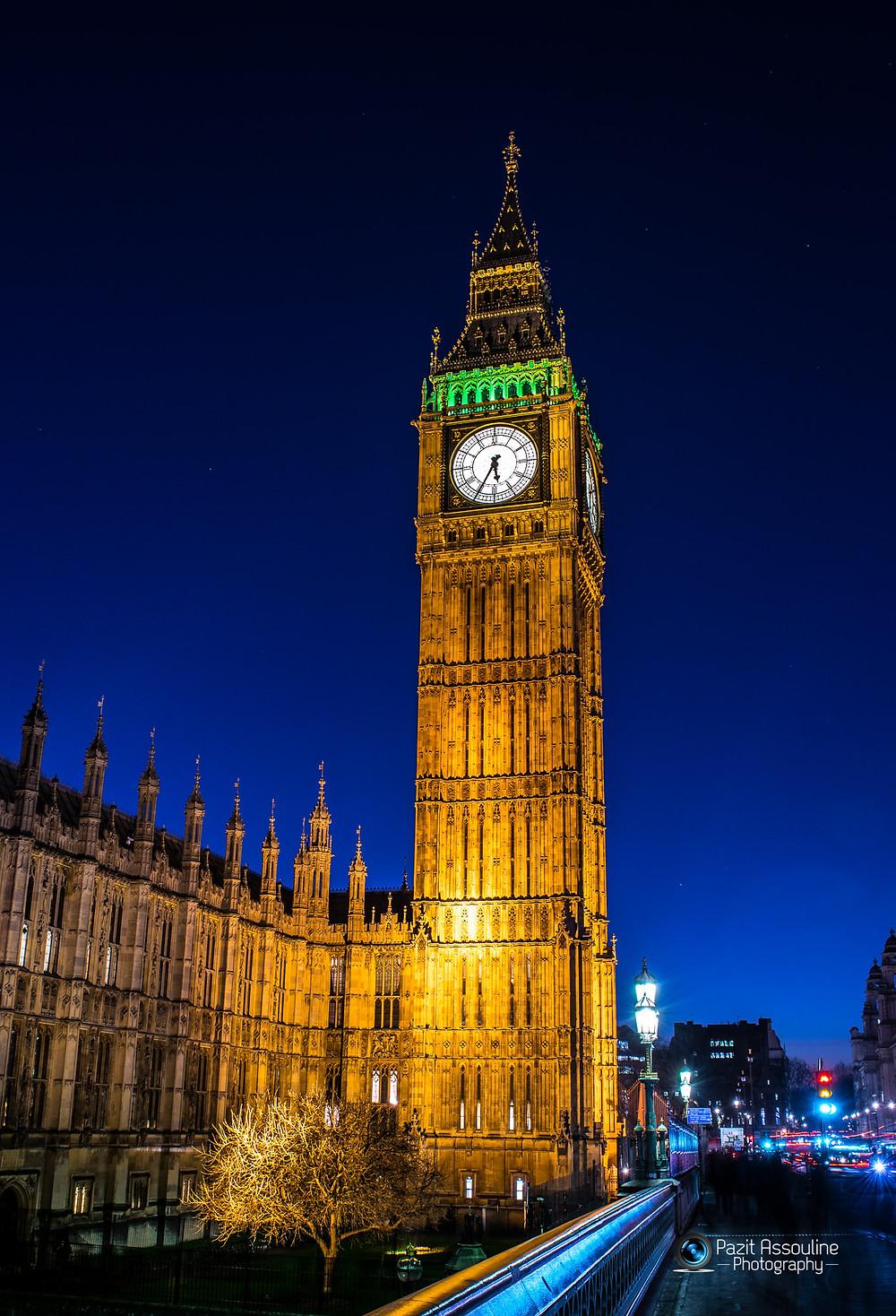ביג בן לונדון, צילום פזית אסולין