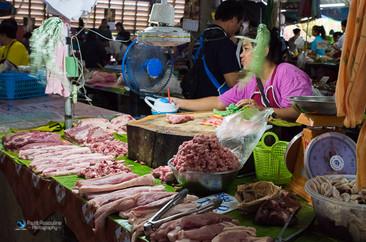 שוק תאילנדי מקומי