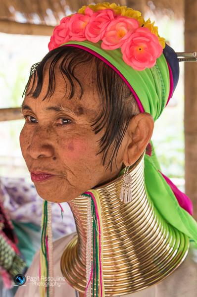 שבט ארוכות הצוואר, תאילנד, צילום: פזית אסולין