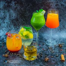 צילום משקאות