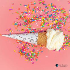 צילום קינוחים גלידה