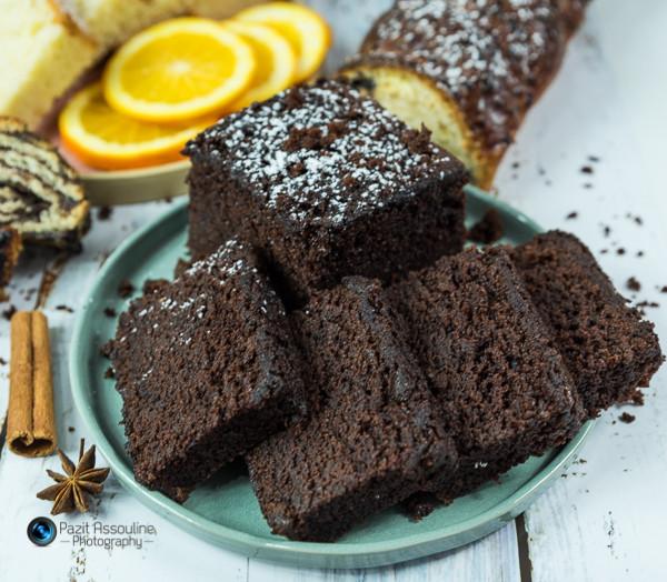 עוגת שוקולד, צילום וסגנון פזית אסולין