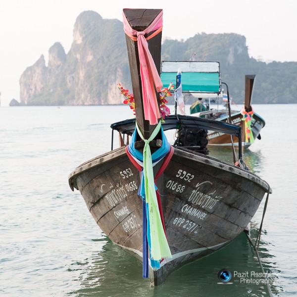 סירות בים, קופיפי תאילנד, צילום פזית אסולין