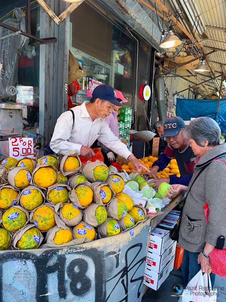 סוחרים בשוק, צ׳יינה טאון ניו יורק, צילום פזית אסולין