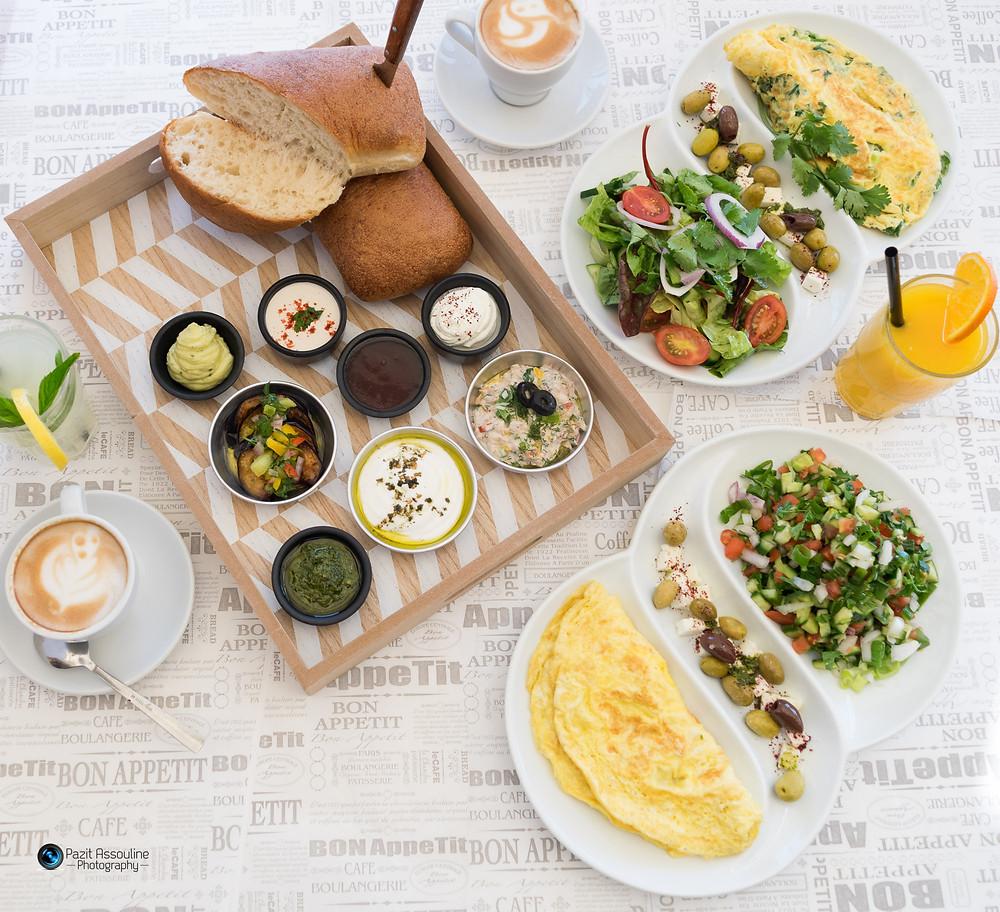 צילום תפריט למסעדות ובתי קפה, פזית אסולין