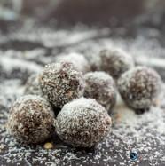 צילום קינוחים, כדורי שוקולד