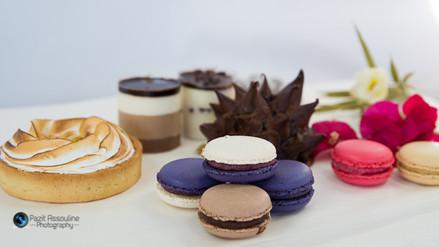 מקרונים, מוס שוקולד