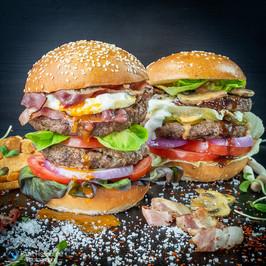 צילום אוכל, המבורגר