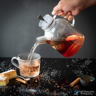 צילום משקאות חורף