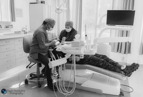 צילום אווירה למרפאת שיניים