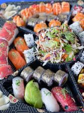 צילום מזון סושי