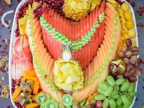 צילום מגשי פירות לקטלוג