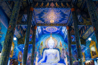 Buddha Blue Temple Thailand