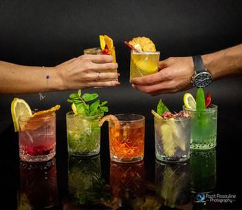 צילום אווירה לבר אלכוהולי