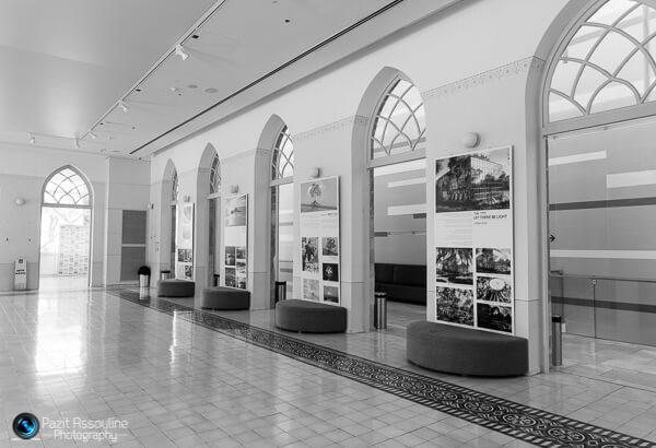 חלל התערוכה, בית העם רחובות, צילום פזית אסולין