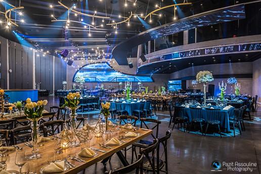 צילום אדריכלי לאולם אירועים