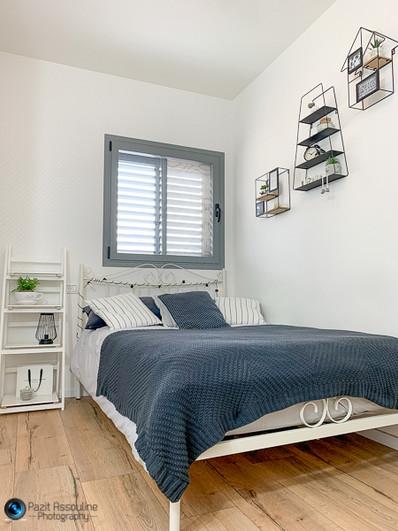 צילום חדר שינה מעוצב