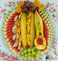 צילום מגשי פירות