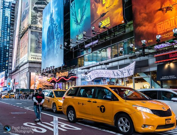 ניו יורק, צבעונית ורועשת, צילום פזית אסולין