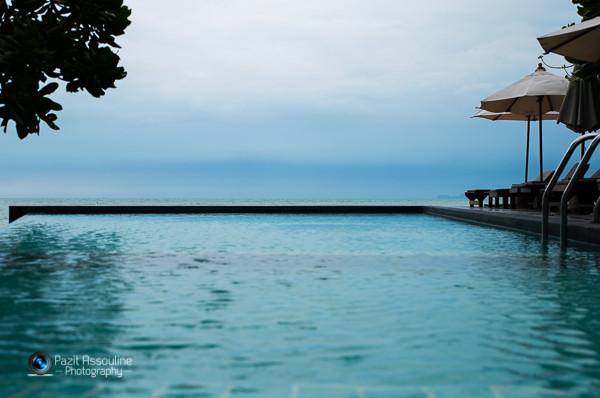 קוסמוי, בריכה קטנה עם נוף  מדהים לים, צילום פזית אסולין