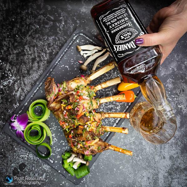 צילום מזון מקצועי כולל סטיילינג פזית אסולין