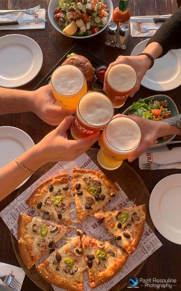 צילום אוכל משקאות ואווירה למסעדה, פזית אסולין