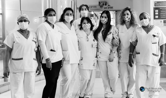 צילום צוות רפואי, בית חולים קפלן