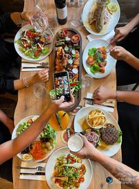 צילום אווירה למסעדה