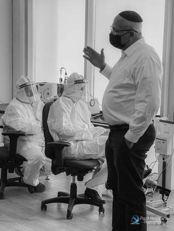 צילום אווירה לחברה בתחום הרפואי