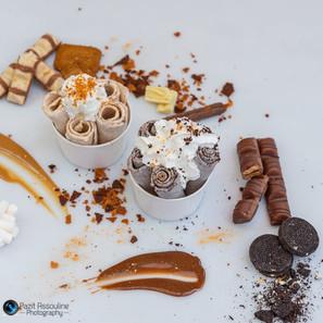 צילום קינוחים גלידה תאילנדית