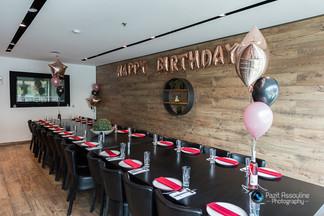 צילום חדר אירועים במסעדה