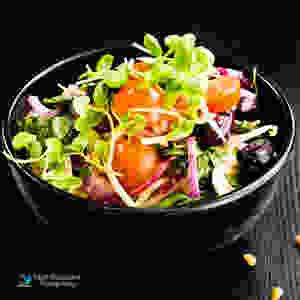סלט ירקות רענן , צילום מזון פזית אסולין