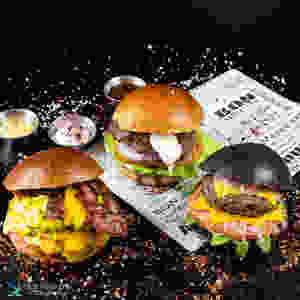צילום המבורגר למסעדה פזית אסולין