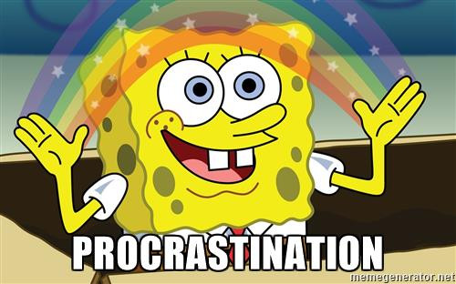 Prying yourself free from the pull of procrastination