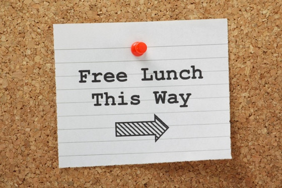 Is there really no such thing as a free lunch