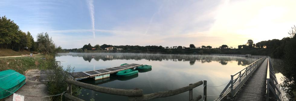Belle vue sur le lac