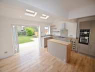 New kitchen installation and extension