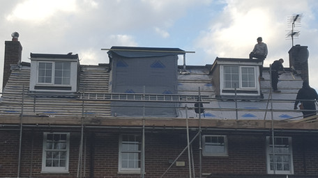 Parkside-Wimbledon-Merton-build-new-roof