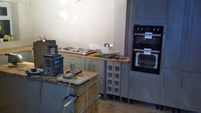 New-Malden-Surrey-build-kitchen-installa