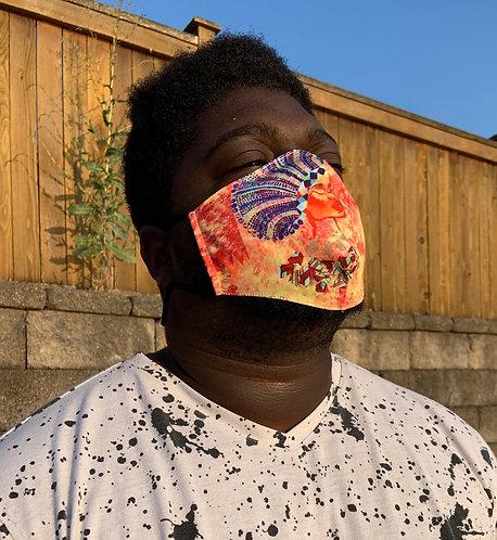 Adjustable Face Mask - Zulu Queen