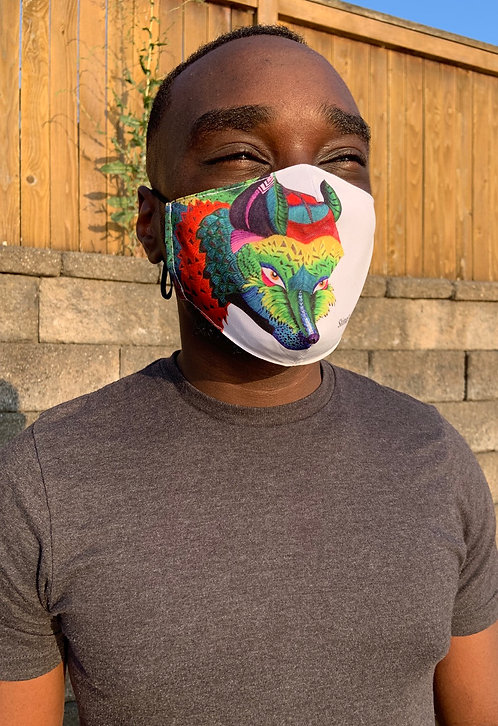 Adjustable Face Mask - Foxy